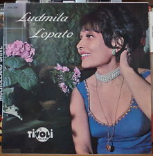 "LUDMILA LOPATO  ""LES DEUX GUITARES"" FRENCH EP TIVOLI"