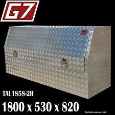 1800x530x820 Aluminium toolbox ute checker plate tool box truck storage 1858-2 4