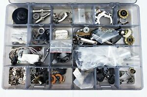 Parts Box Full Of Vintage Zebco Cardinal Saltwater Spinning Reel Parts