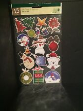 Plus Mark Holiday Gift Tags & Stickers (7 Packs Of 15) New