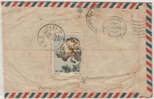 China 1967 Airmail Cover to Thailand Monkey