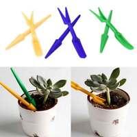 2x forcella piantine pianta+perforatore seminare+paletta semi piantare giardino