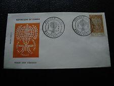 CONGO (brazzaville) - enveloppe 1er jour 7/4/1962 (cy57) (A)