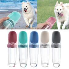 Portable Pet Dog Water Bottle Fr Travel Puppy Cat Drinking Bowl Dispenser Feeder
