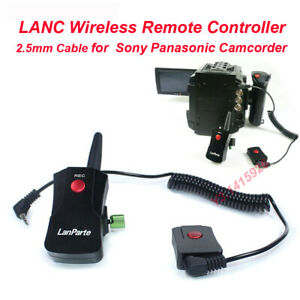 Lanparte Camcorder LANC Wireless Remote Controller 2.5mm Cable F Sony Panasonic