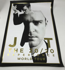 Justin Timberlake The 20/20 Experience World Tour Poster Limited Edition
