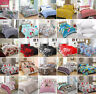 Luxury Modern Printed Bedding Poly Cotton Duvet Set With Pillow Case Quilt Cover