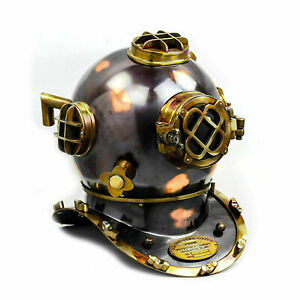 """Diving Divers Helmet Deep Sea Anchor Engineering 1921 Nautical Collectible 18"""""""