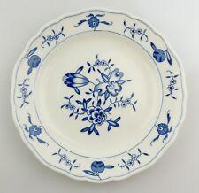 #e8342 Meissen Porcellana Piatto 2. scelta con Motivo Floreale Blu Bianco