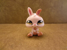 Littlest Pet Shop #1366 Rabbit Bunny Brown Eyes LPS
