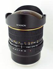 New Rokinon 8mm F/3.5 Fisheye Lens for Sony E Mount