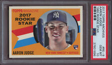 2017 Topps Archives 1960 Rookie Star #rs-9 Aaron Judge Yankees Rookie PSA 10