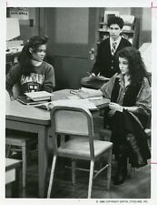 ROBIN GIVENS LESLIE BEGA JORY HUSAIN HEAD OF THE CLASS ORIGINAL '87 ABC TV PHOTO