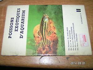 Supplement Axelrod Poissons Exotiques d'Aquarium n°11