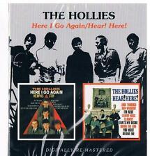Hollies-Here I go again & Hear! Hear!, 2 USA Alben von 1964 + 1965/CD Neuware