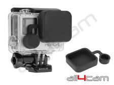 Housing Lens Cap fits GoPro Hero3+ HERO4 Protective Lens Cap Cover black