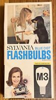 NOS Vintage Sylvania M3 Blue Dot Flashbulbs 12 Pack
