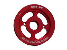 OBX Red Aluminum Crank Pulley Fits 04 05 06 07 08 09 tC 2.4L 2AZ-FE