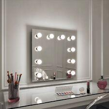 Hollywood Meryl Specchio Illuminato Parete Specchio 60 x 60 Make up Specchio