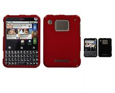 Two Piece Hard Slim Snap on Cover Protector Case for Motorola Charm MB502