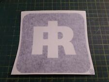 "2 Total INGERSOLL RAND LOGO DECAL ASSEMBLY, 59822254, NOS Size is 6""X 7"""