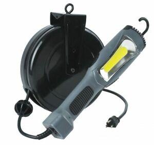 1300 LUMEN COB LED CORD RETRACTABLE REEL WORK,REPAIR,TASK SHOP Light 5030AM