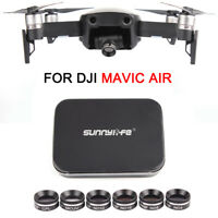 For DJI MAVIC AIR Multi-functional Lens Filter MCUV CPL ND4/8/16 ND32 Accessory