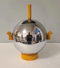 Machine Age Art Deco Revere Rome NY Ice Bucket / Server Catalin Bakelite Chrome