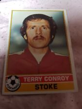Topps Football Card 1977/1978 X Terry Conroy X Stoke X Number 31 X