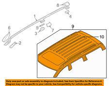 VOLVO OEM 01-07 V70 Roof Rack Rail Luggage Carrier-Slat 8633493
