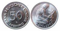 J379  50 Pfennig Bank deutscher Länder  1950 G in STG   586004-06