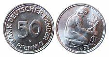 J379  50 Pfennig Bank deutscher Länder  1950 G in STG   480006-8