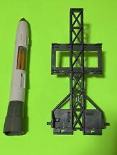 Gi Joe vintage 1988 rolling thunder rocket missile gantry and Missile