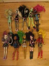 Monster High Muñecas Niñas X10 Paquete De Lote De Trabajo