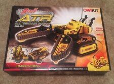 OWI-536  New All Terrain 3 In 1 RC Robot Multi-Function Mobile Tracked Kit ATR