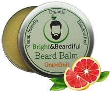 Grapefruit Leave-in Beard Balm for Styling, Taming, Soften & Conditioning 30ml