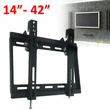 TV Wall Bracket Mount For 14 20 25 30 32 38 40 42 Inch 3D LCD LED Plasma