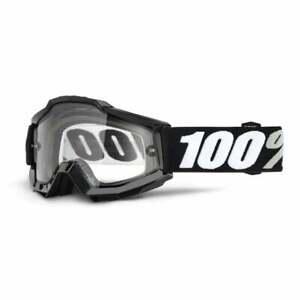 "100% Accuri OTG ""Over The Glasses"" Motocross MX MTB Bike Goggles - Tornado"