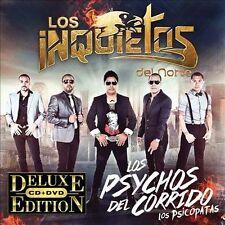 Los Psychos del Corrido (Los Psicópatas) by Los Inquietos del Norte (CD, Feb-201