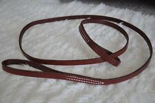 Leather Dog Leash Lead No Collar Needed Amish Made 6'