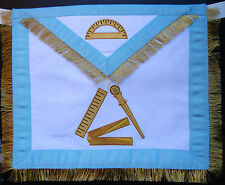 Masonic Fraternal Scottish rite 12 Degree Grand Master Architect regalia apron