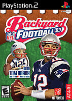 Backyard Football '09 Sony PlayStation 2 2008 CIB Complete Video Game Tested PS2