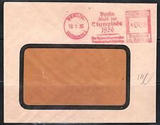BERLIN SOBRE MATASELLO RODILLO 1936 OLIMPADAS DE BERLIN . DEUTFCHES REICH