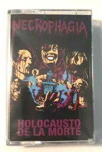 Necrophagia – Holocausto De La Morte  Cassette, Album, Limited Edition, Reissue