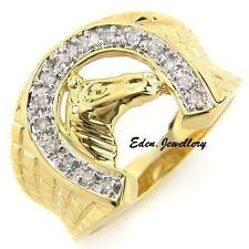 14k Yellow Gold Diamond Jewellery for Men