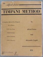 Alfred Friese Timpani Method-A Complete Method for Timpani in 4 Parts