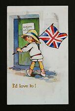 WW1 Postcard Army Recruitment South End Osmotherley Northallerton Yorkshire