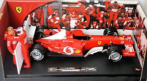 Ferrari F2003-GA F1 Constructors World Champions 2003 1:18 Hot Wheels