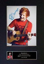 Ed Sheeran ++ Autogramm britischer Singer-Songwriter Game of Thrones Autograph