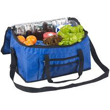 Kuehltasche: Faltbare Kühltasche mit Schultergurt & Tragegriffen, 24 Liter, blau